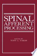 Spinal Afferent Processing Book