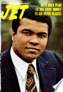 Jet magazine cover with picture of Muhammad Ali