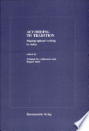 According To Tradition Book