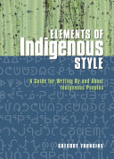 Elements of Indigenous Style