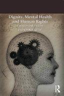 Dignity, Mental Health and Human Rights Pdf/ePub eBook