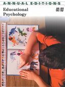 Ed Educational Psych 02 03 Book