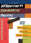 Introduction to Comparative Politics  AP  Edition Book