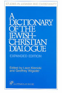 A Dictionary of the Jewish Christian Dialogue