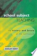 School Subject Teaching