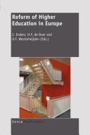 Reform of Higher Education in Europe Pdf/ePub eBook