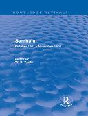 Samhain (Routledge Revivals) Pdf/ePub eBook