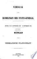 Verslag Der Handelingen Van De Tweede Kamer Der Staten Generaal