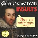 Shakespearean Insults 2020 Calendar