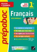 Prépabac Français 1re générale Bac 2022 Pdf/ePub eBook