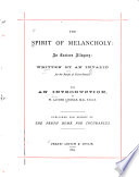 The spirit of melancholy: an easter allegory