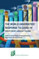 The world universities    response to COVID 19  remote online language teaching