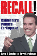 Recall!: California's Political Earthquake Pdf/ePub eBook