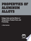 Properties of Aluminum Alloys