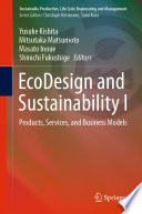 EcoDesign and Sustainability I Book