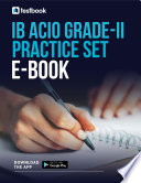 Ib Acio Grade Ii Practice Set 2021 Download Free Pdf Here