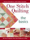 One Stitch Quilting - The Basics