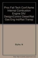 Design And Control Of Diesel And Natural Gas Engines For Industrial And Rail Transportation Applications Book PDF