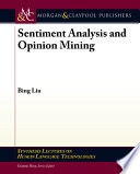 Sentiment Analysis and Opinion Mining Book