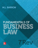 Fundamentals of Business Law 7e Revised