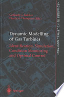 Dynamic Modelling of Gas Turbines Book