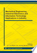 Mechanical Engineering  Industrial Electronics and Information Technology Applications in Industry