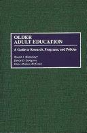 Older Adult Education