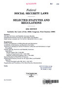 Federal social security laws
