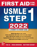 First Aid for the USMLE Step 1 2022  32E