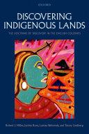 Discovering Indigenous Lands