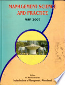 Second National Conference on Management Science and Practice, March 9-11, 2007