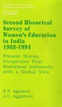 Second Historical Survey of Women s Education in India  1988 1994