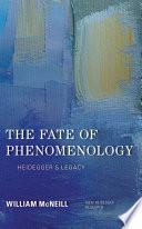 The Fate of Phenomenology Book PDF