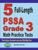 5 Full-Length PSSA Grade 3 Math Practice Tests