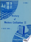 History of Western Civilization II Book PDF