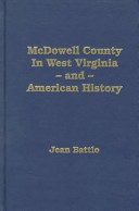 McDowell County, in West Virginia and American History