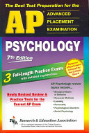 The Best Test Preparation For The Ap Psychology
