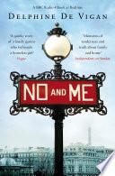 """""""No and Me"""" by Delphine de Vigan"""