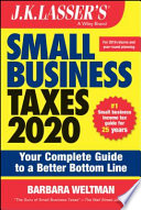J K  Lasser s Small Business Taxes 2020