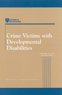 Crime Victims with Developmental Disabilities