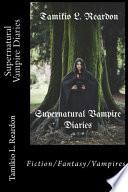 Supernatural Vampire Diaries Book