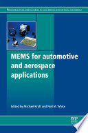 Mems for Automotive and Aerospace Applications Book