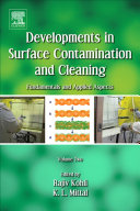 Developments in Surface Contamination and Cleaning   Vol 2 Book