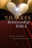 The T.D. Jakes Relationship Bible Pdf/ePub eBook