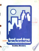 Food And Drug Administration Location Directory