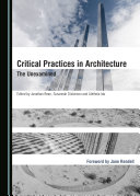 Critical Practices in Architecture