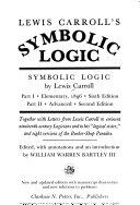 Lewis Carroll S Symbolic Logic