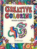 Creative Coloring Design Elements