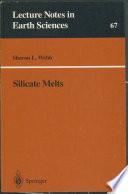 Silicate Melts