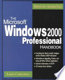 The Microsoft Windows 2000 Professional Handbook Book PDF